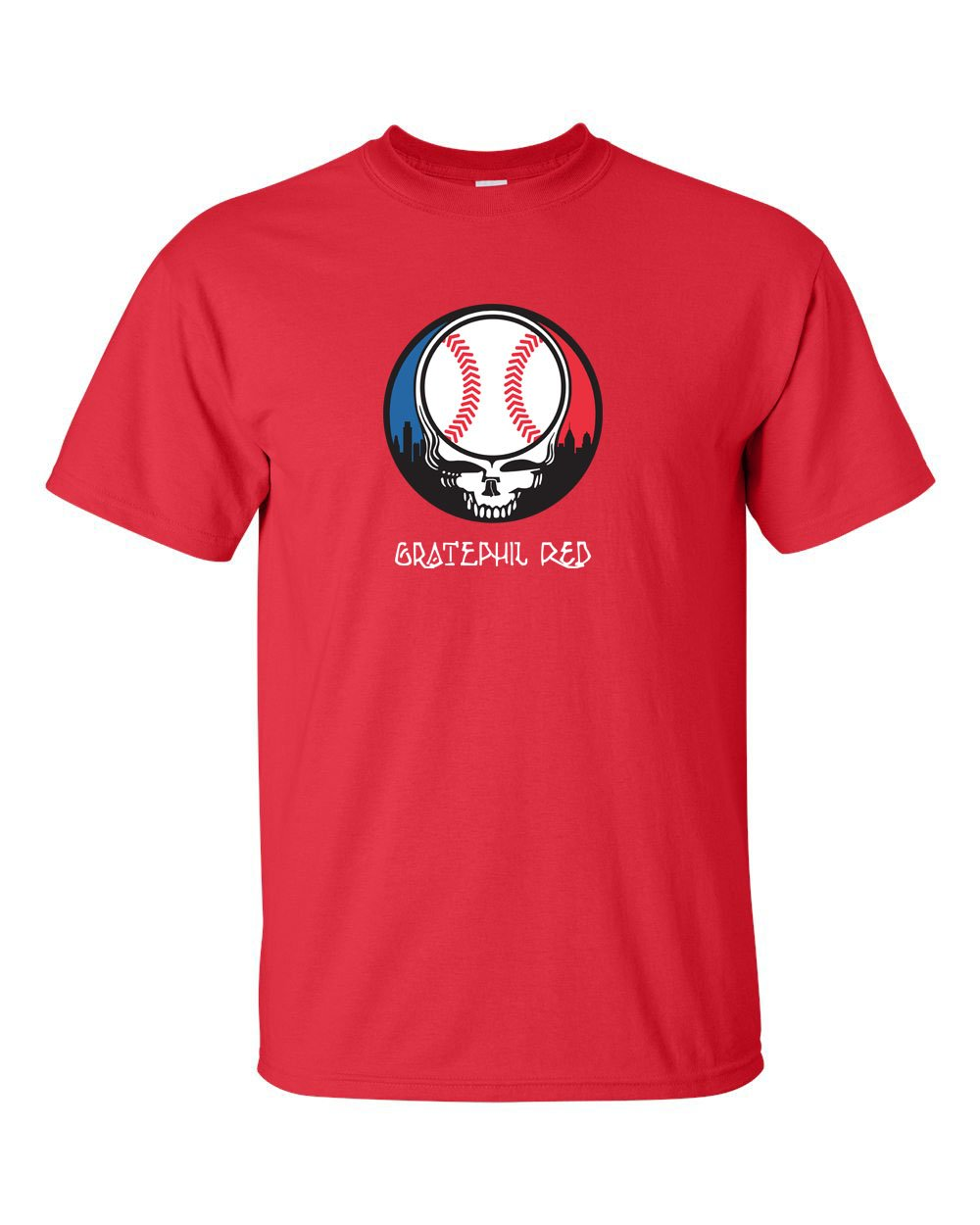 Gratephil Red Mens/Unisex T-Shirt