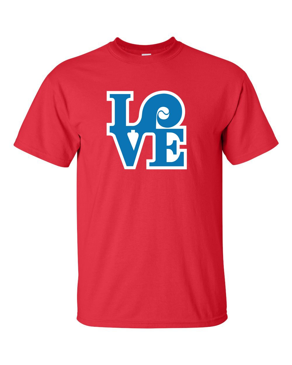 Love Red Mens/Unisex T-Shirt