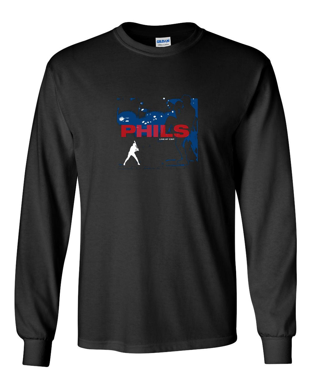 Live at CBP MENS Long Sleeve Heavy Cotton T-Shirt