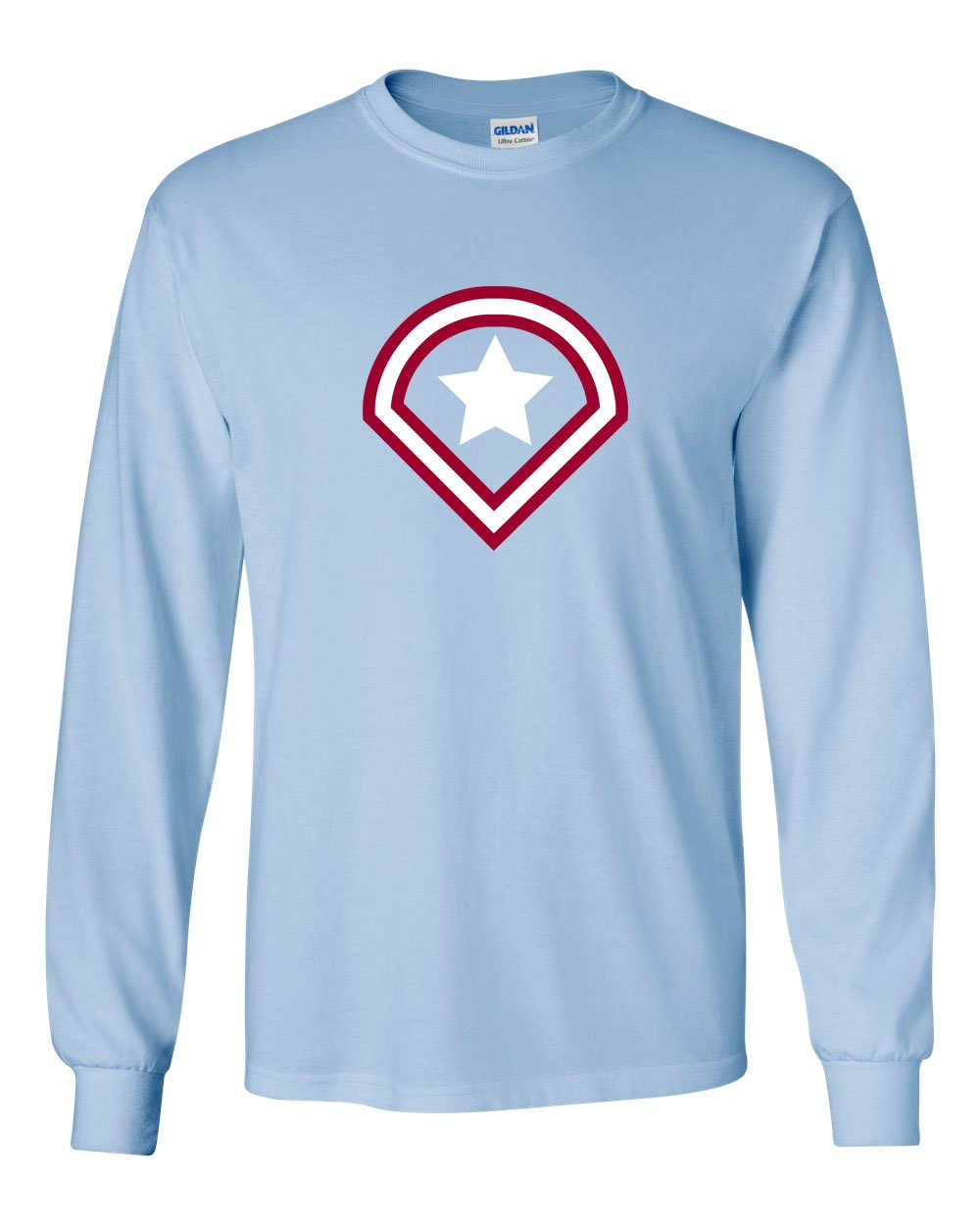 Captain Philly MENS Long Sleeve Heavy Cotton T-Shirt