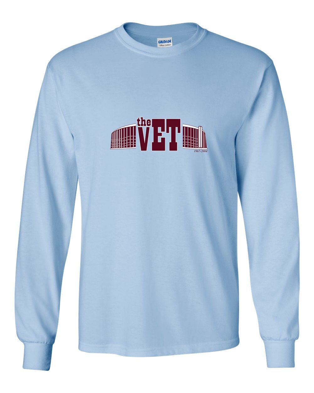 The Vet (Baseball) MENS Long Sleeve Heavy Cotton T-Shirt