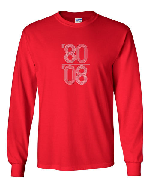 80-08 MENS Long Sleeve Heavy Cotton T-Shirt