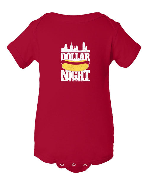 Dollar Dog Night INFANT Onesie