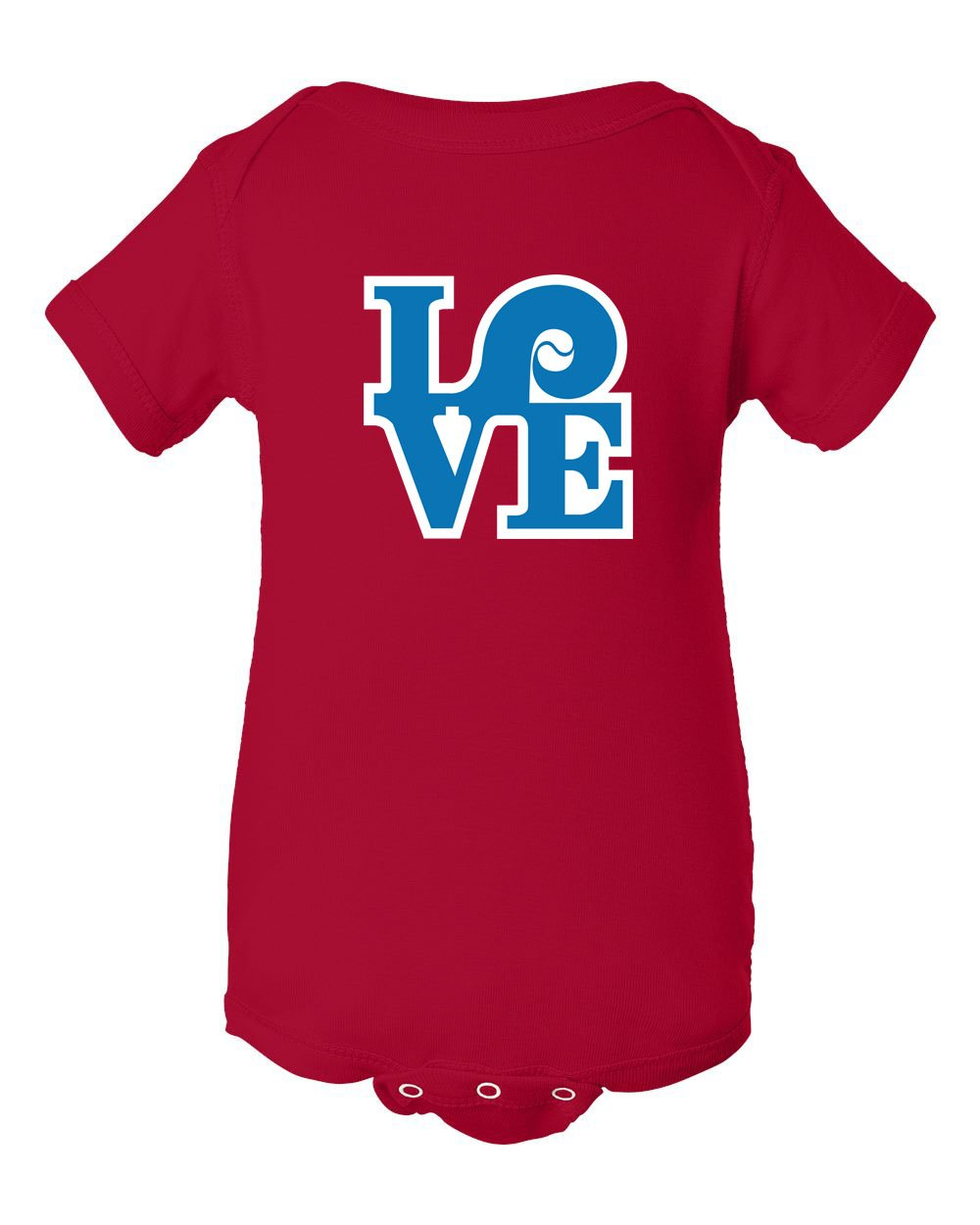 Love Red INFANT Onesie