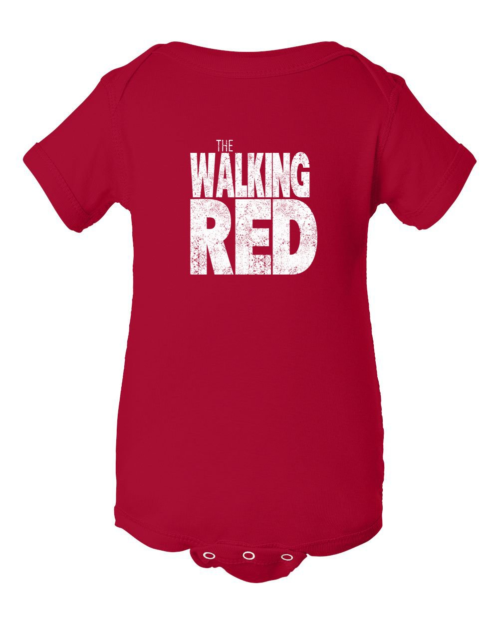 The Walking Red INFANT Onesie