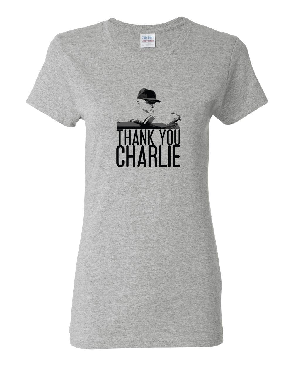 Thank You Charlie LADIES Missy-Fit T-Shirt
