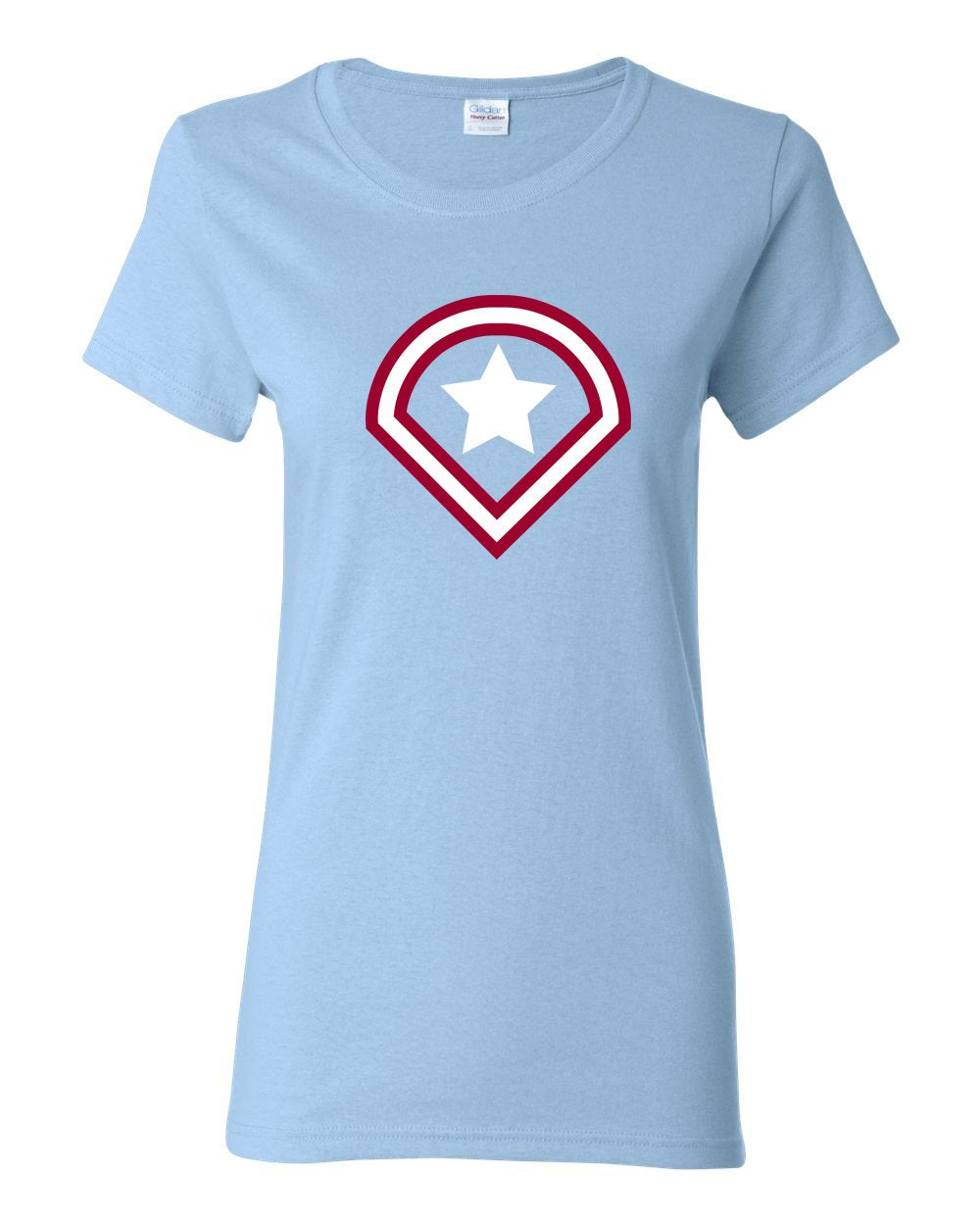 Captain Philly LADIES Missy-Fit T-Shirt