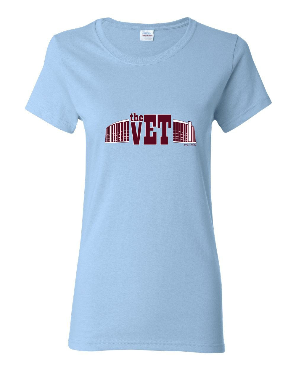 The Vet (Baseball) LADIES Missy-Fit T-Shirt