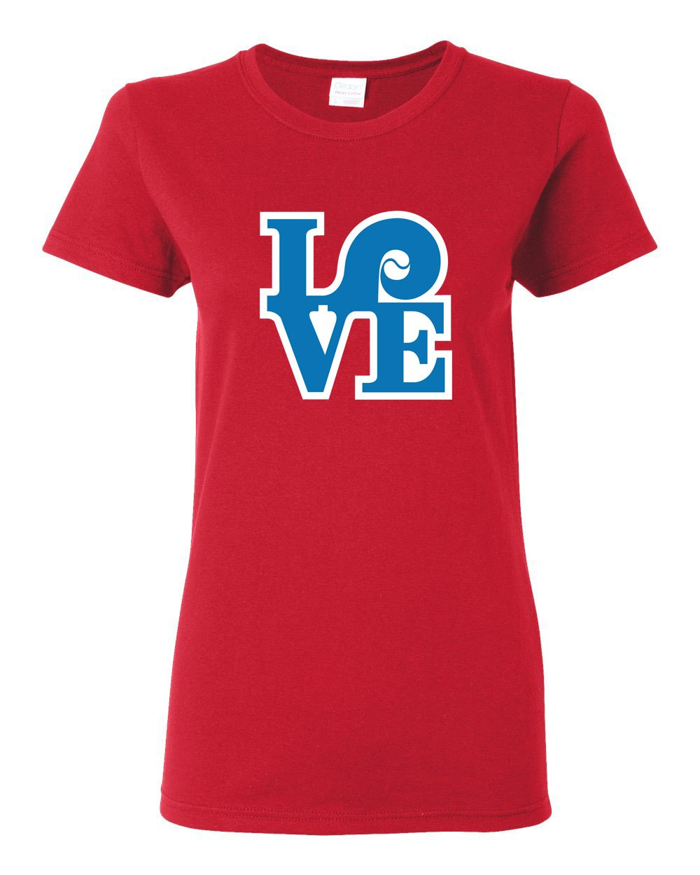 Love Red LADIES Missy-Fit T-Shirt