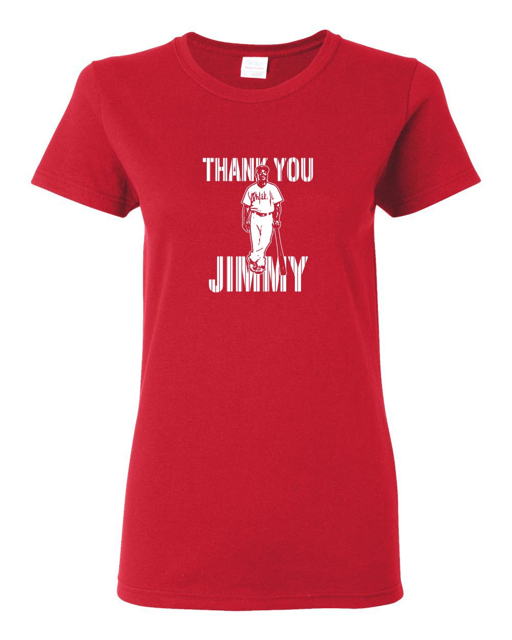 Thank You Jimmy LADIES Missy-Fit T-Shirt