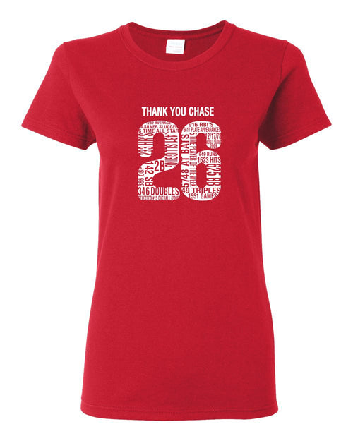Thank You Chase LADIES Missy-Fit T-Shirt