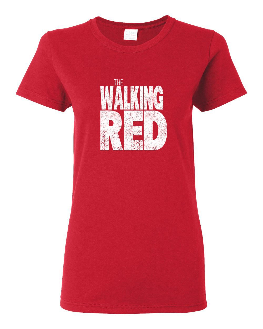 The Walking Red LADIES Missy-Fit T-Shirt