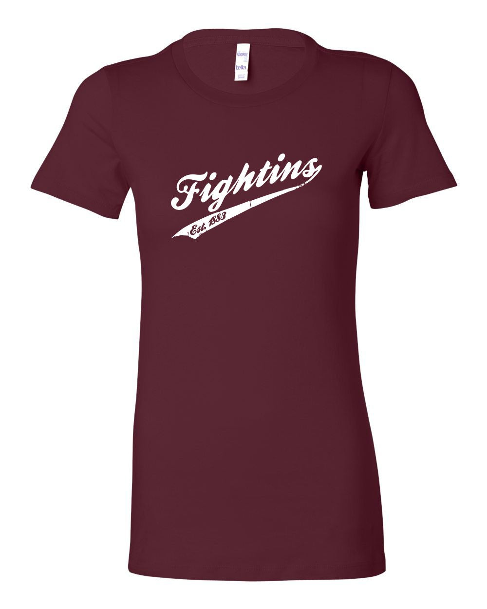 Fightins Vintage LADIES Junior-Fit T-Shirt