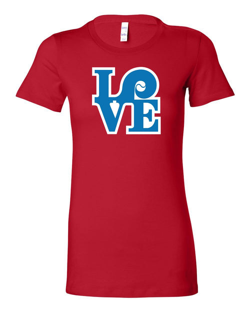 Love Red LADIES Junior-Fit T-Shirt