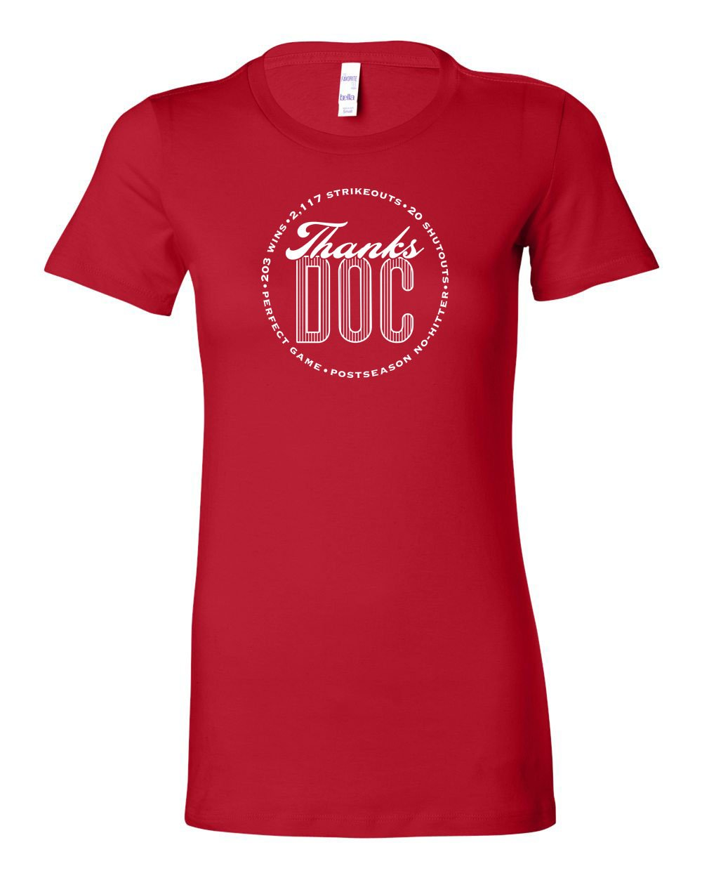Thanks Doc LADIES Junior-Fit T-Shirt