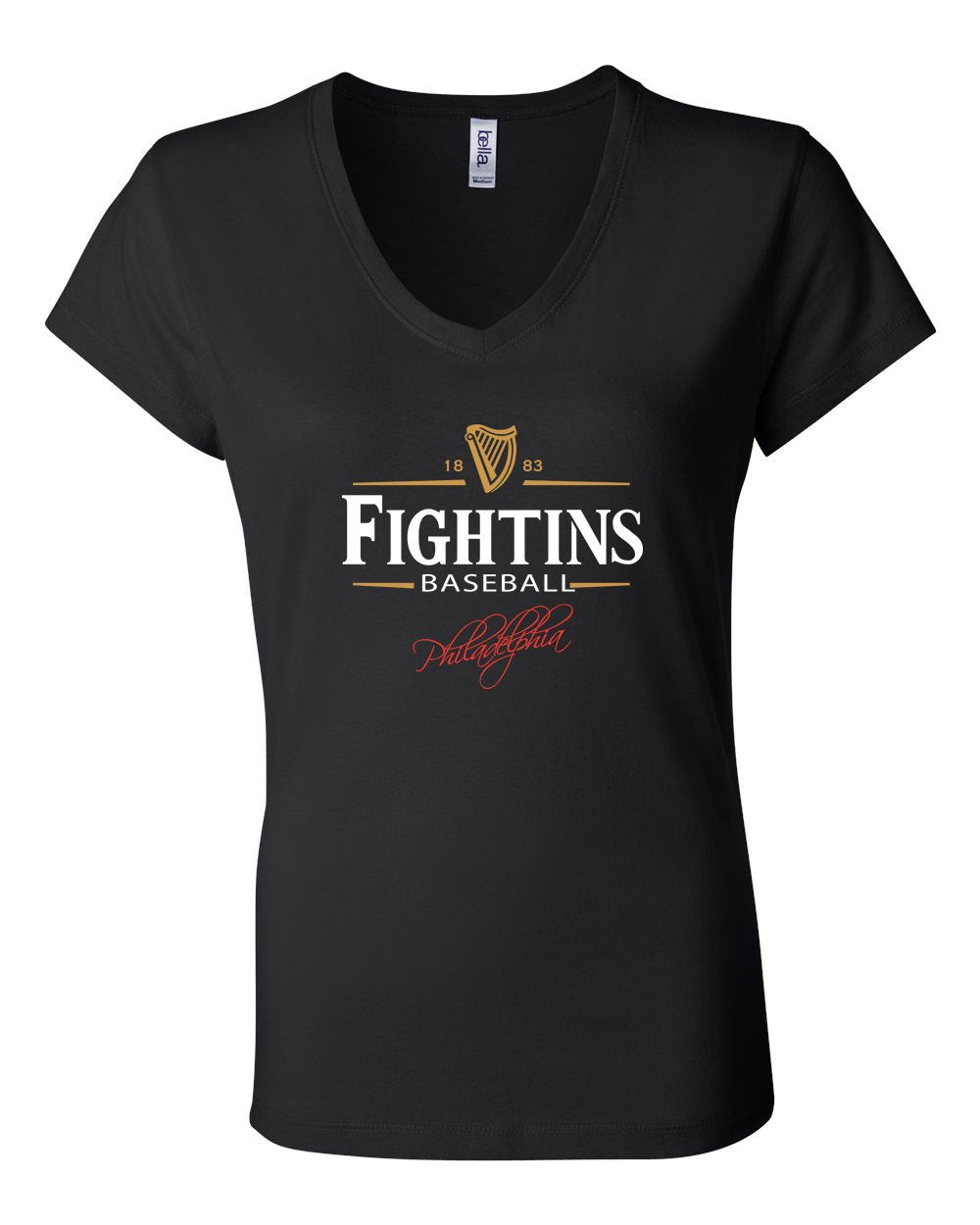 Fightin's Beer LADIES Junior Fit V-Neck