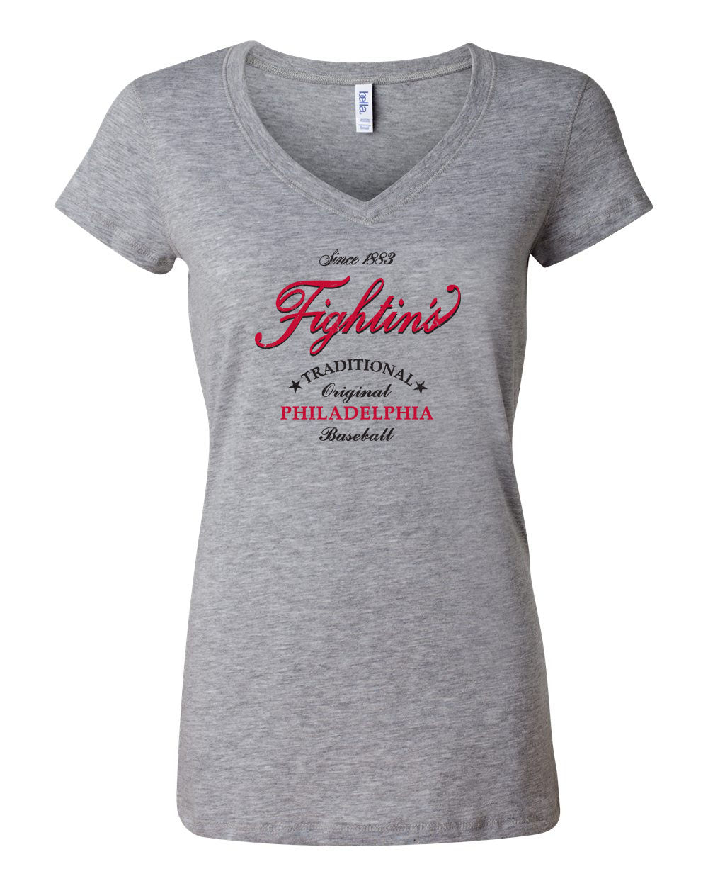 Fightins Lager LADIES Junior Fit V-Neck