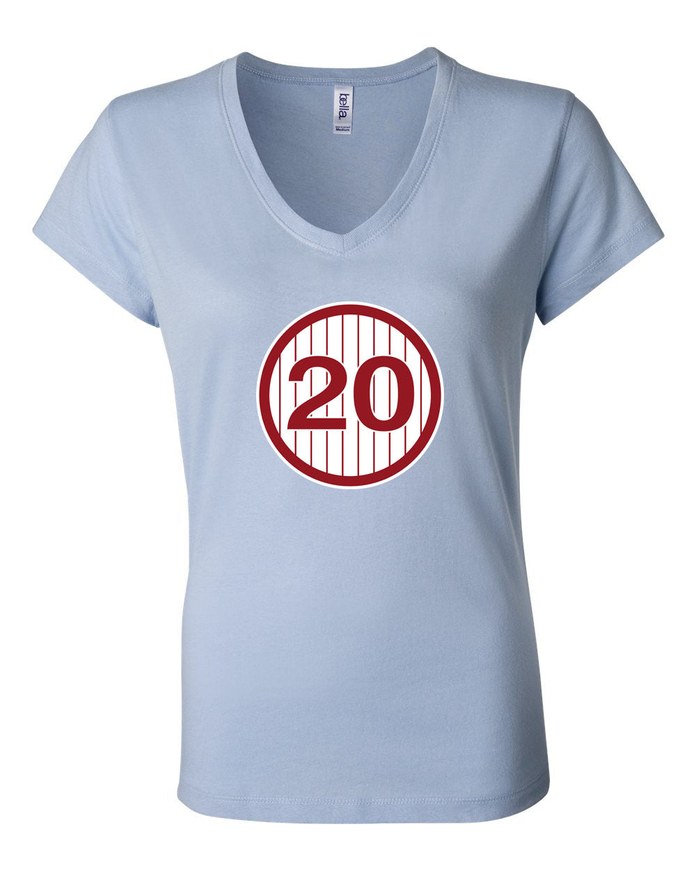 #20 LADIES Junior Fit V-Neck