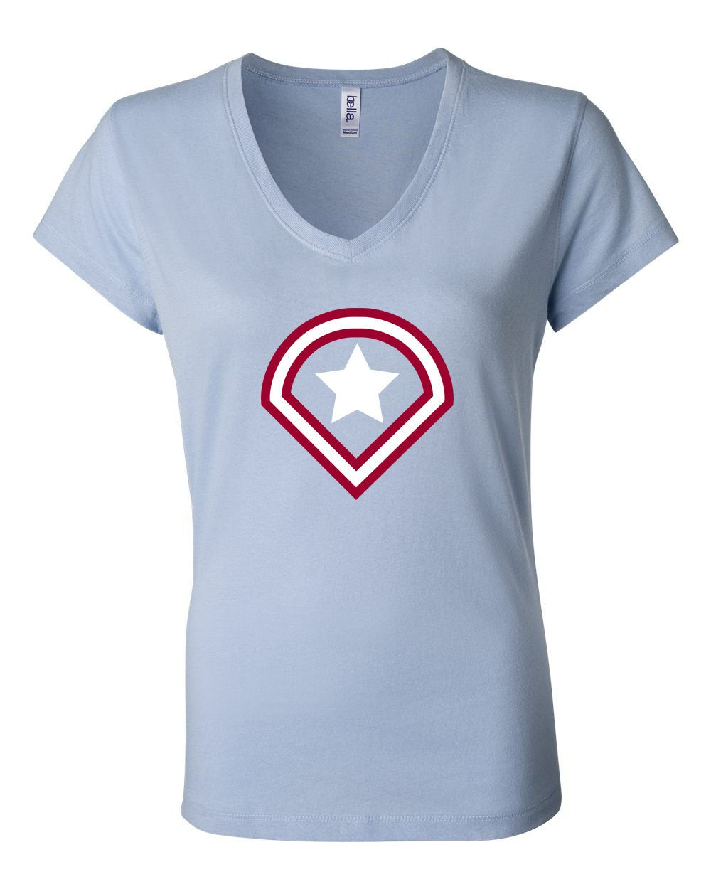 Captain Philly LADIES Junior Fit V-Neck