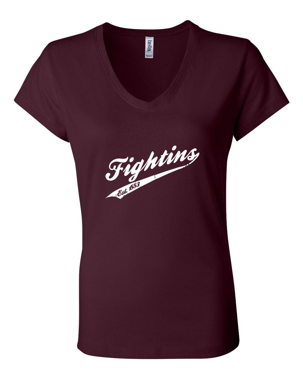 Fightins Vintage LADIES Junior Fit V-Neck