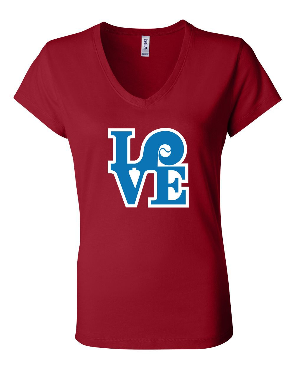 Love Red LADIES Junior Fit V-Neck