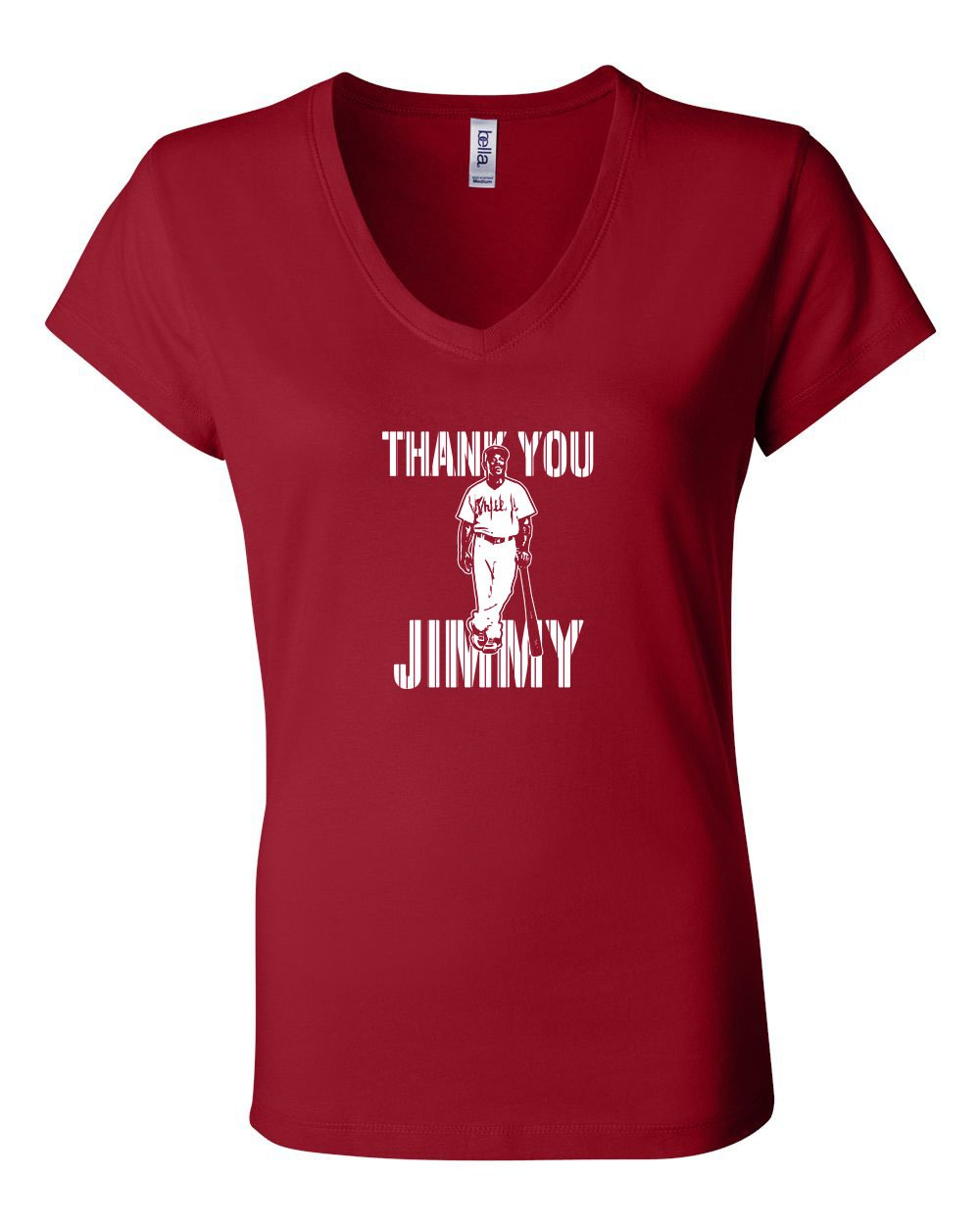 Thank You Jimmy LADIES Junior Fit V-Neck
