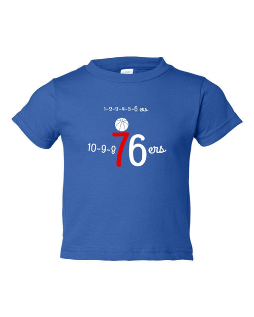 Numbers TODDLER T-Shirt