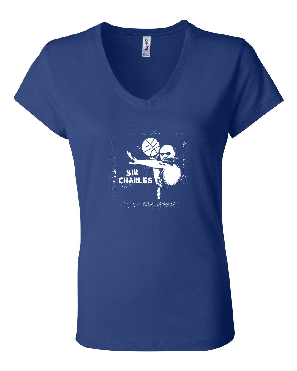 Sir Charles LADIES Junior Fit V-Neck