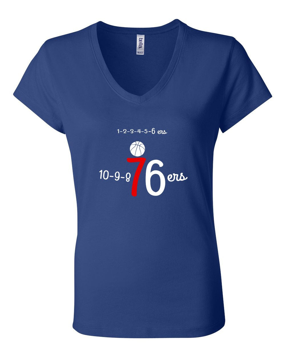Numbers LADIES Junior Fit V-Neck