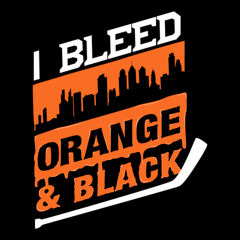 Bleed Orange and Black