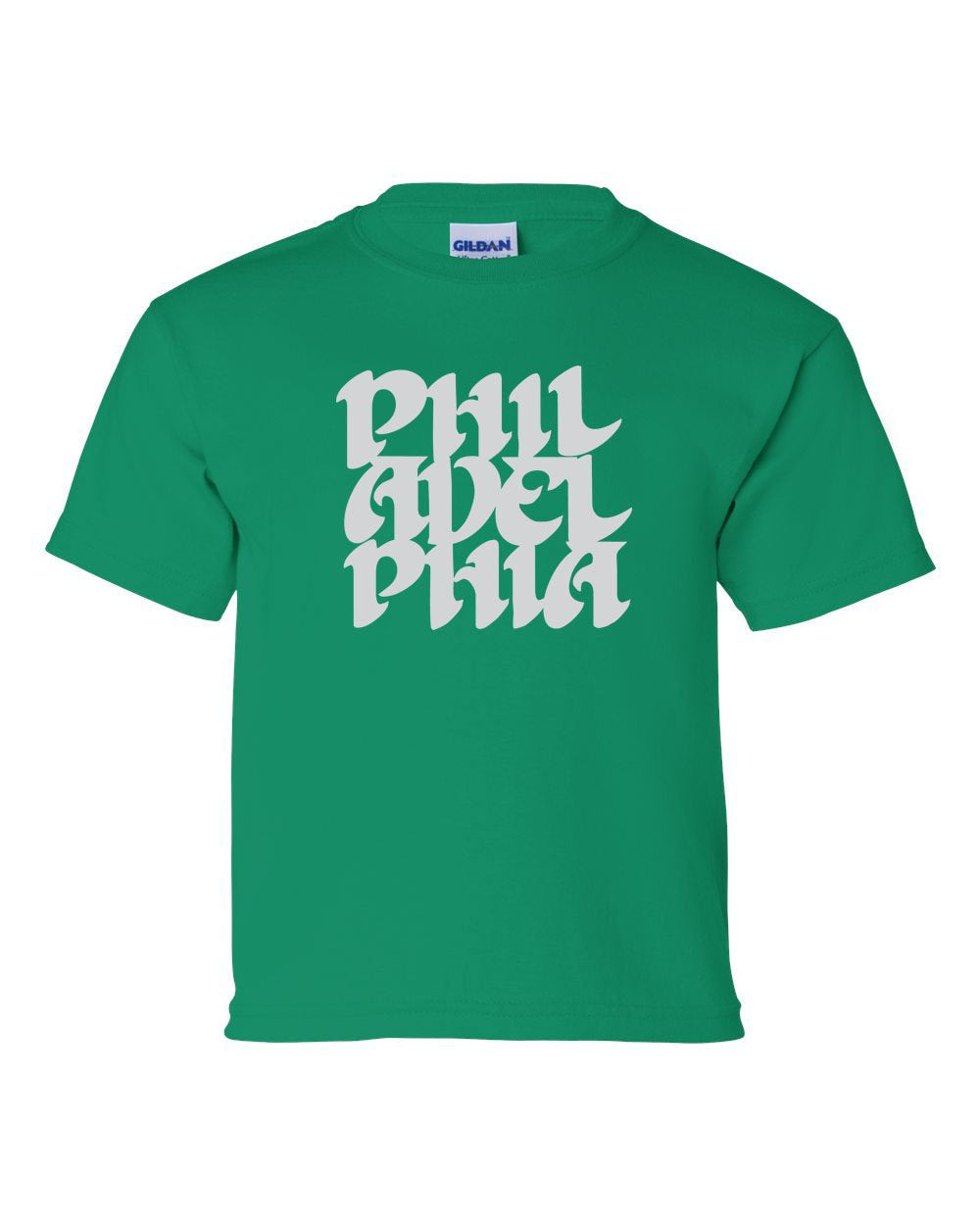Vintage Philly Font KIDS T-Shirt