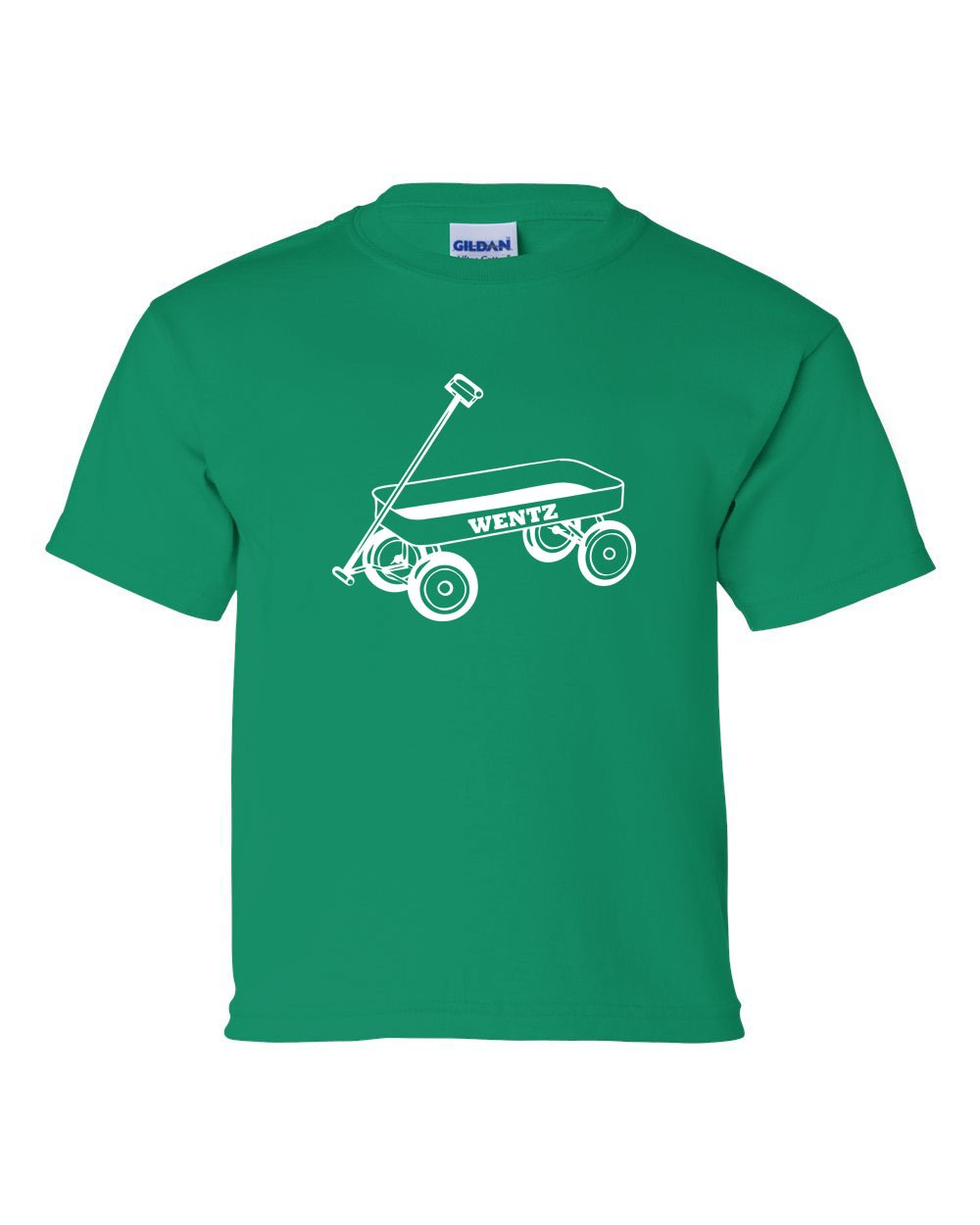 Wentz Wagon White Ink KIDS T-Shirt
