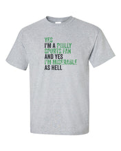 Philly Sports Fan Football Mens/Unisex T-Shirt