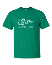 Jawn or Die White Ink Mens/Unisex T-Shirt