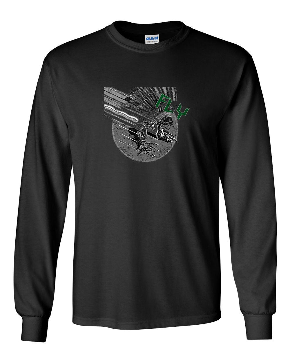 Judas Bird MENS Long Sleeve Heavy Cotton T-Shirt