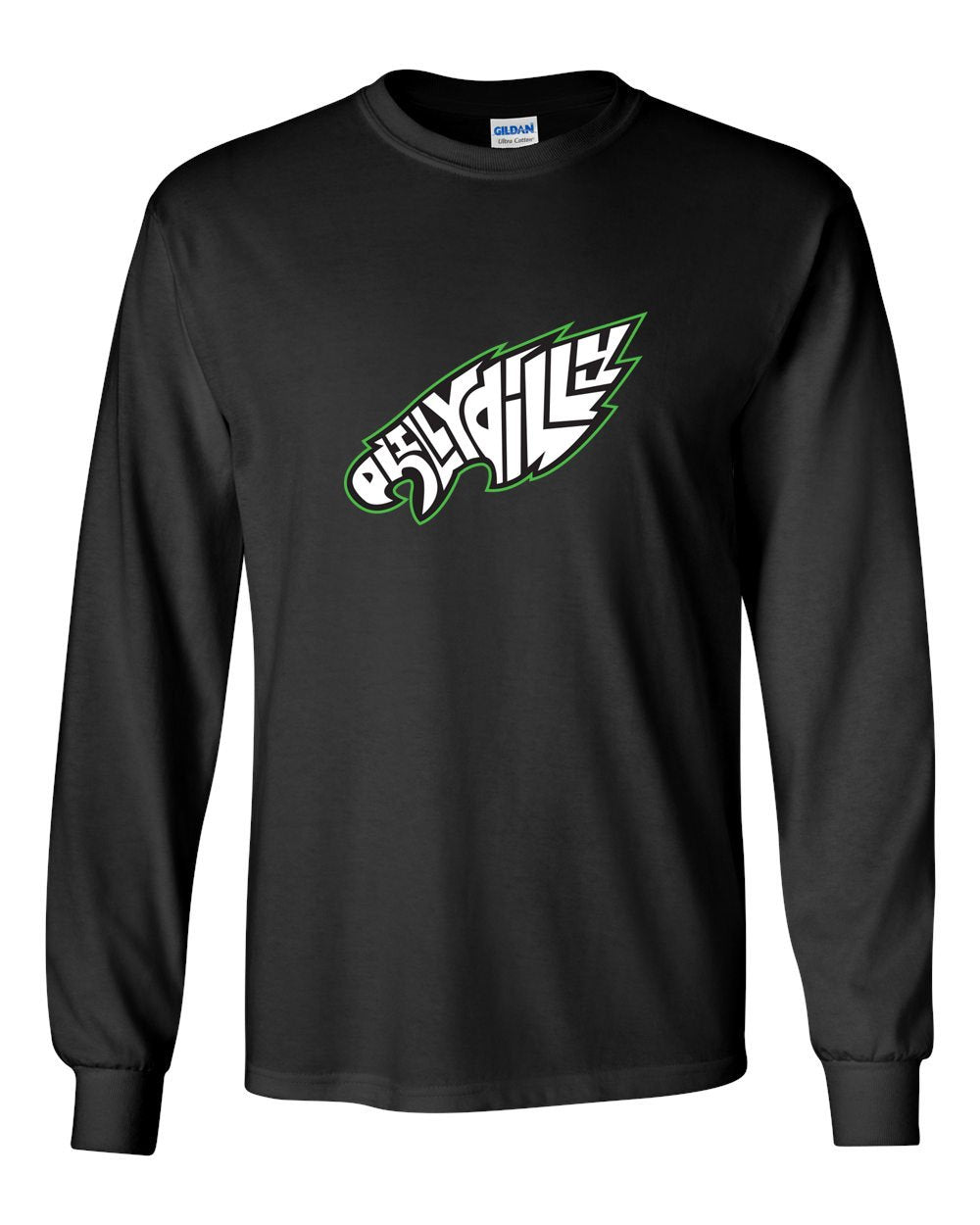 Philly Dilly MENS Long Sleeve Heavy Cotton T-Shirt
