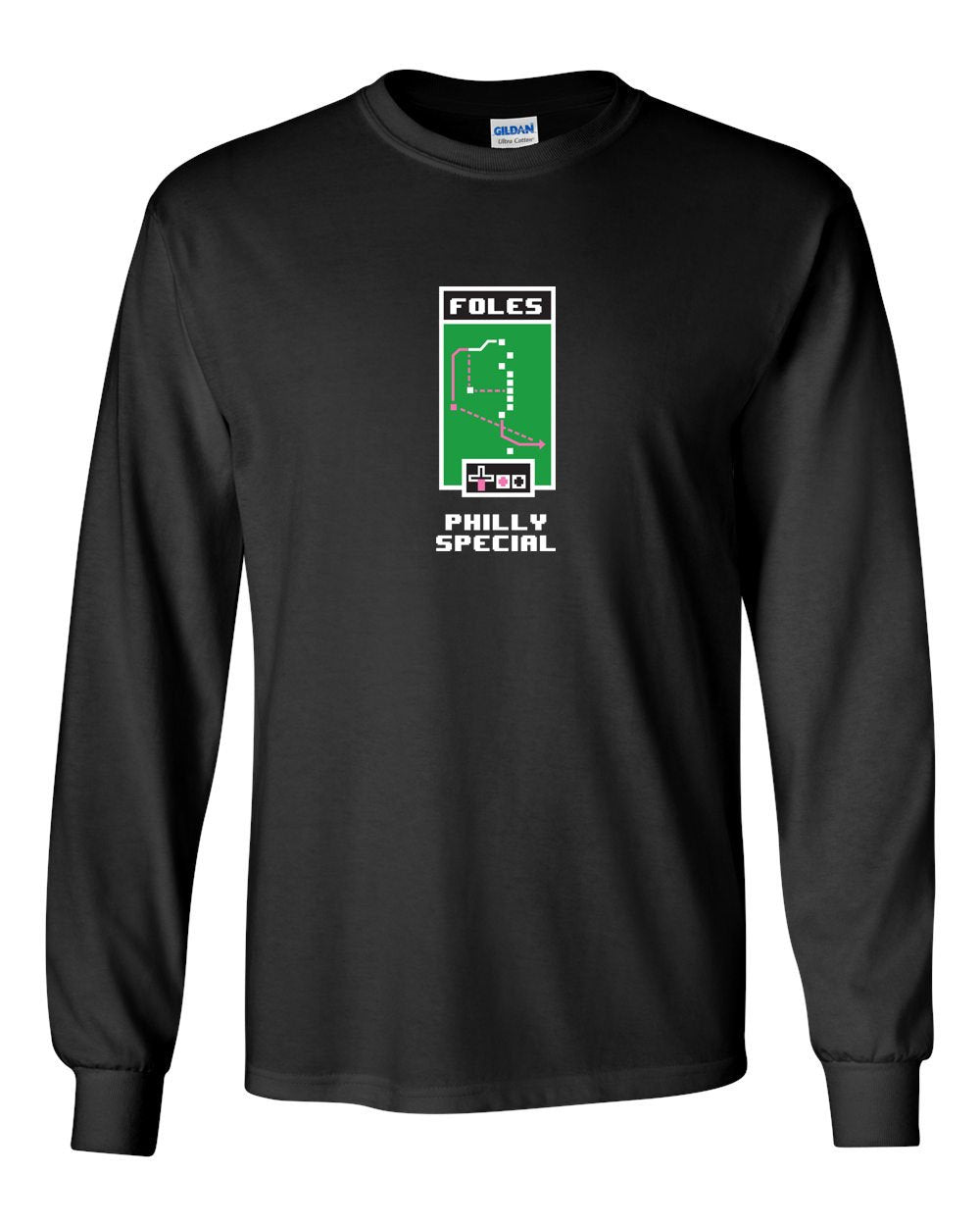 Philly Special MENS Long Sleeve Heavy Cotton T-Shirt