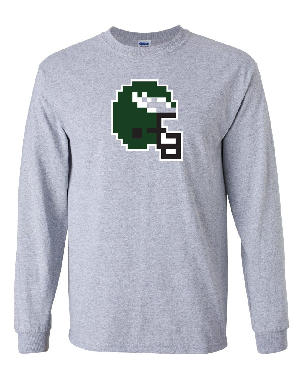 Tecmo Bird MENS Long Sleeve Heavy Cotton T-Shirt