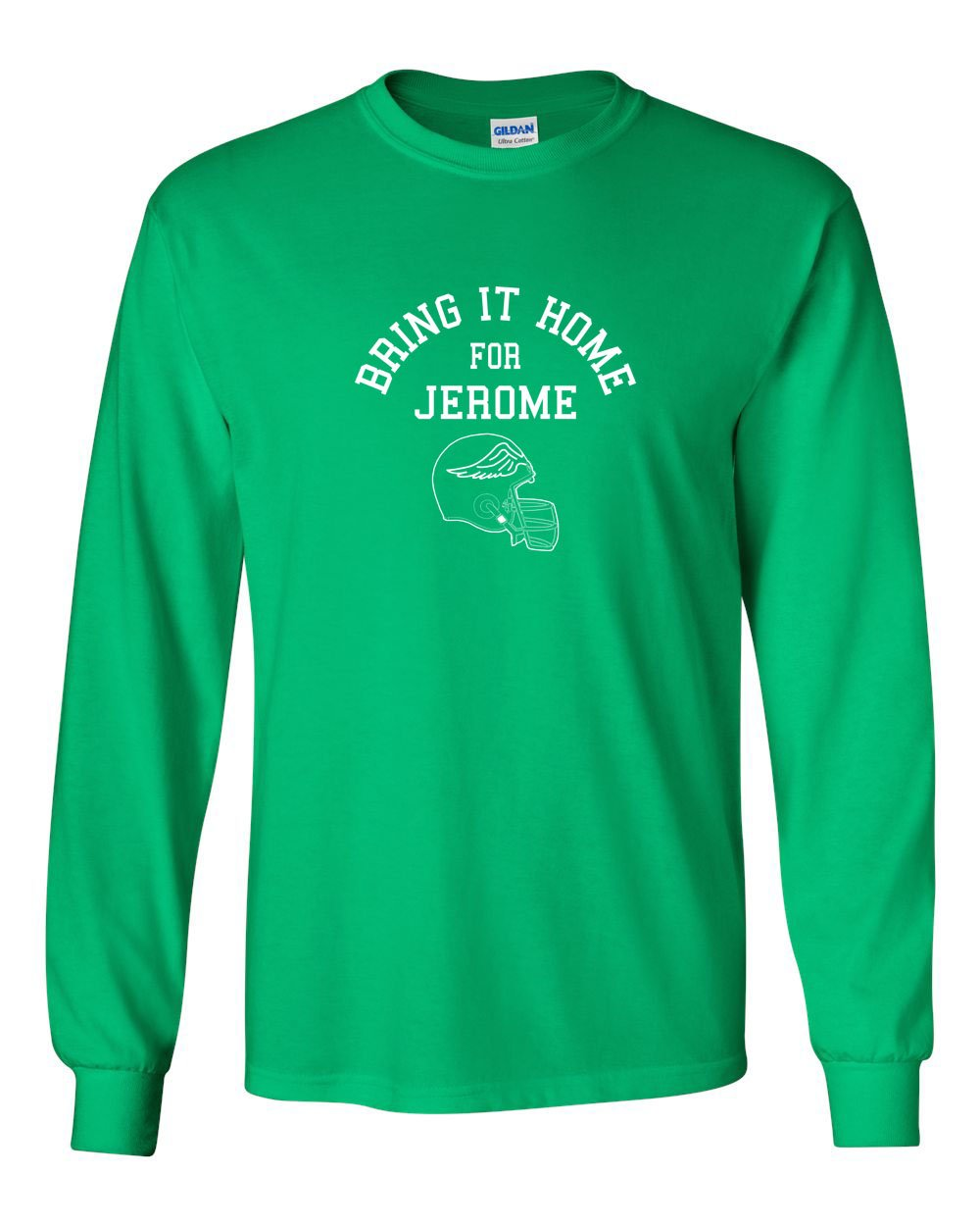 Bring It Home For Jerome MENS Long Sleeve Heavy Cotton T-Shirt