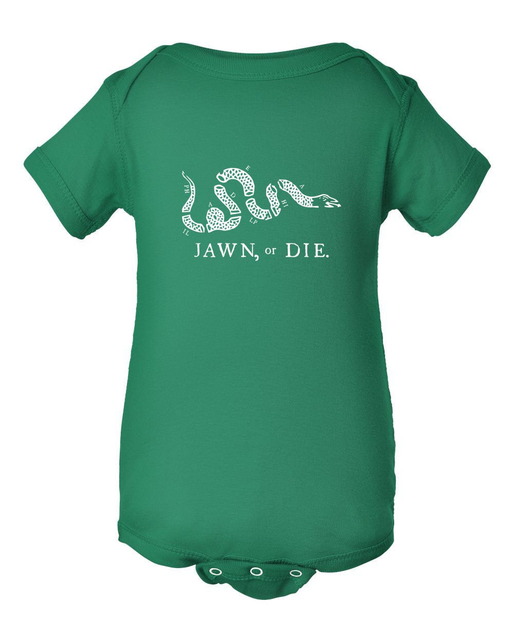 Jawn or Die White Ink INFANT Onesie