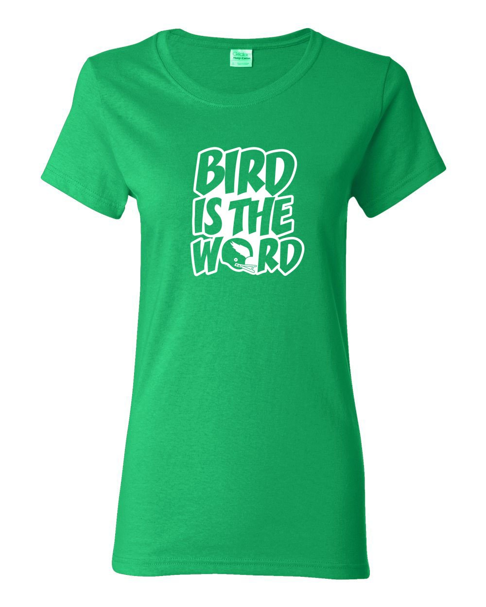 Bird is the Word LADIES Missy-Fit T-Shirt