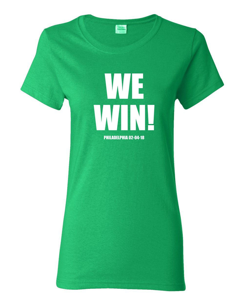 We Win! LADIES Missy-Fit T-Shirt