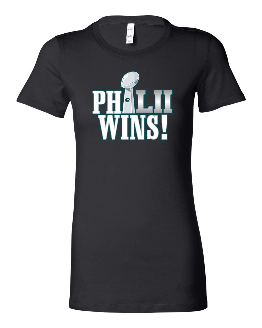 Philly Wins! LADIES Junior-Fit T-Shirt