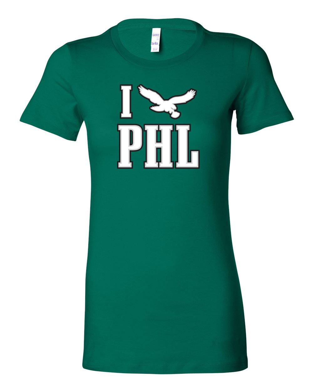 I PHL LADIES Junior-Fit T-Shirt