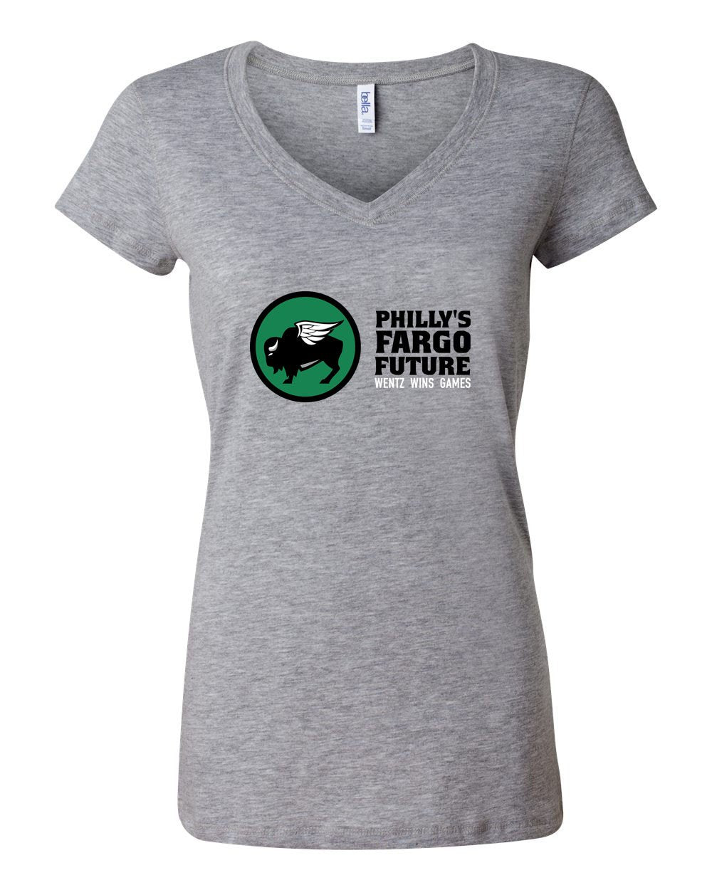 Bison Bird LADIES Junior Fit V-Neck