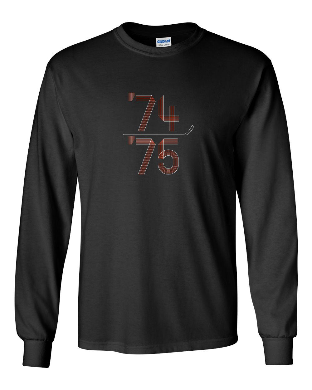 74-75 MENS Long Sleeve Heavy Cotton T-Shirt