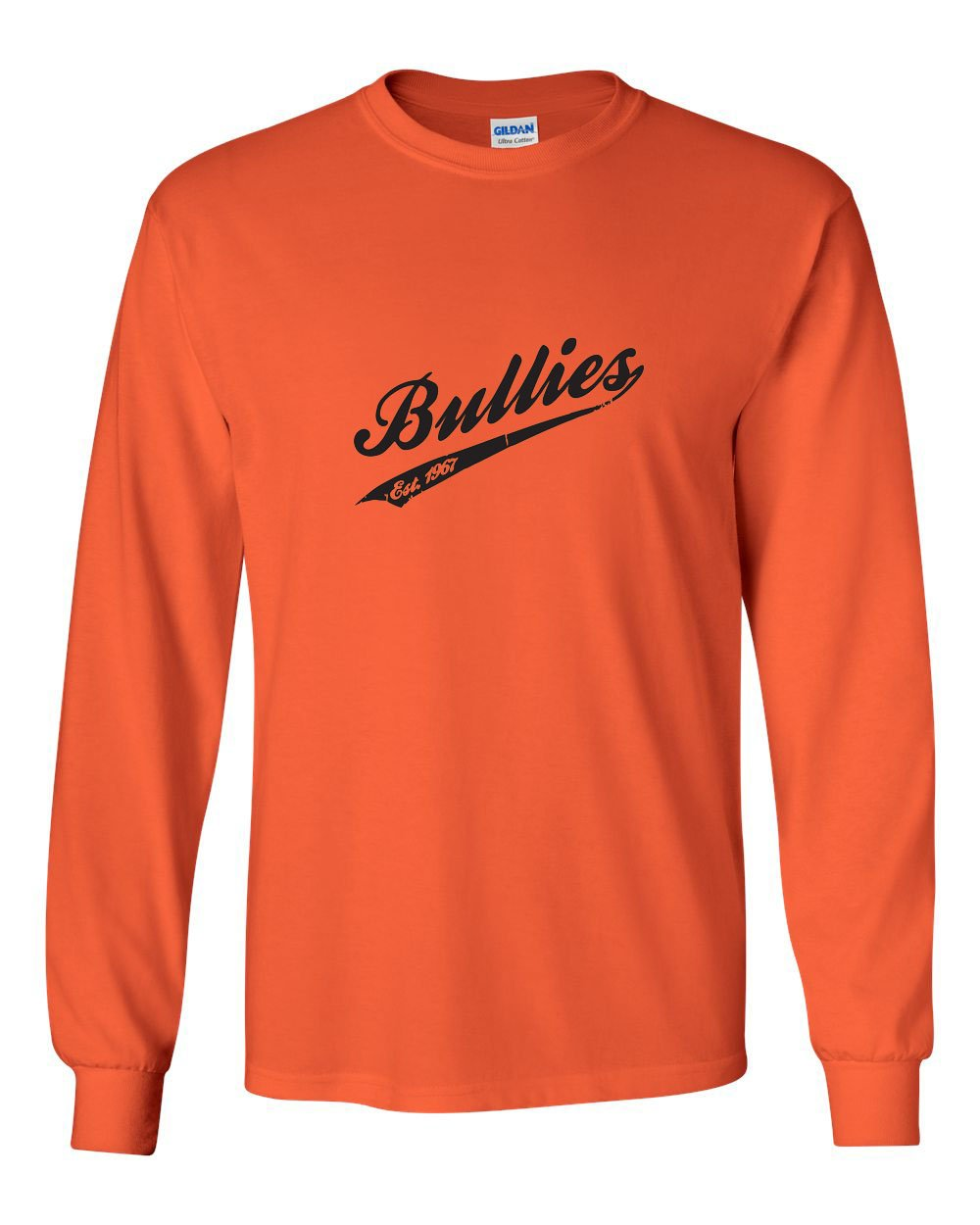 Vintage Bullies MENS Long Sleeve Heavy Cotton T-Shirt
