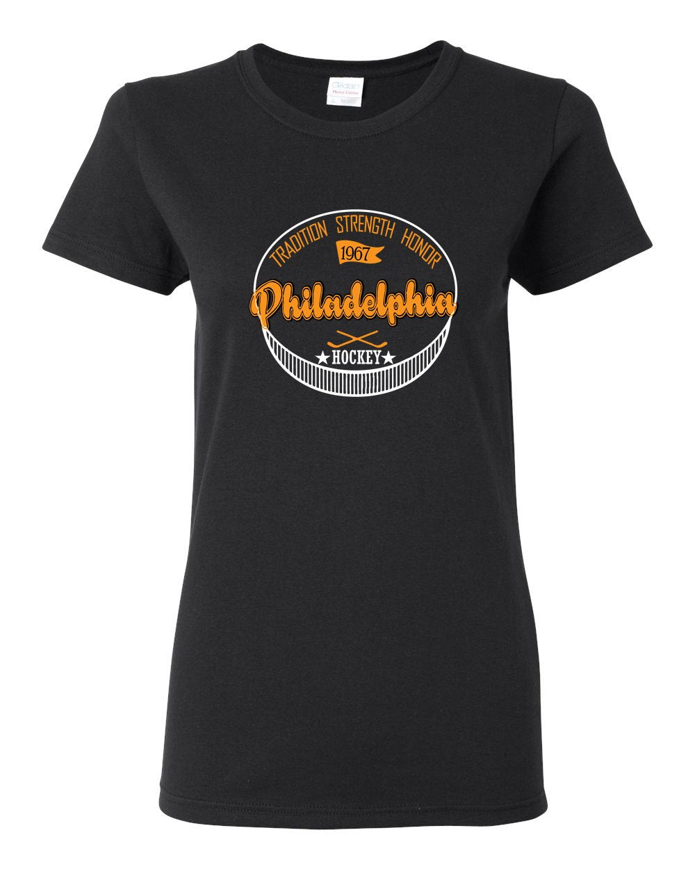 Philadelphia Puck LADIES Missy-Fit T-Shirt