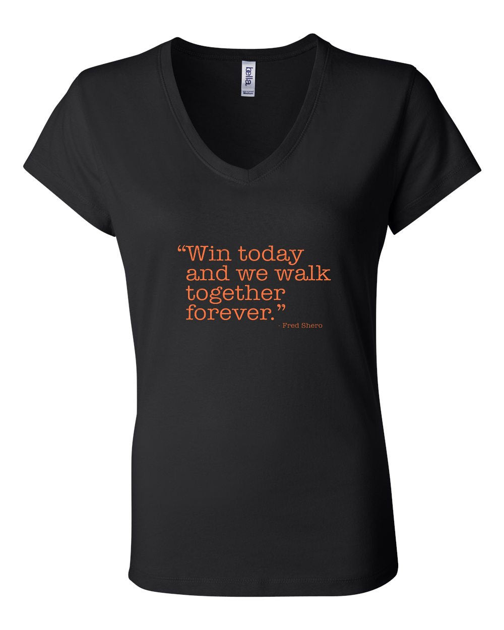 Win Today LADIES Junior Fit V-Neck