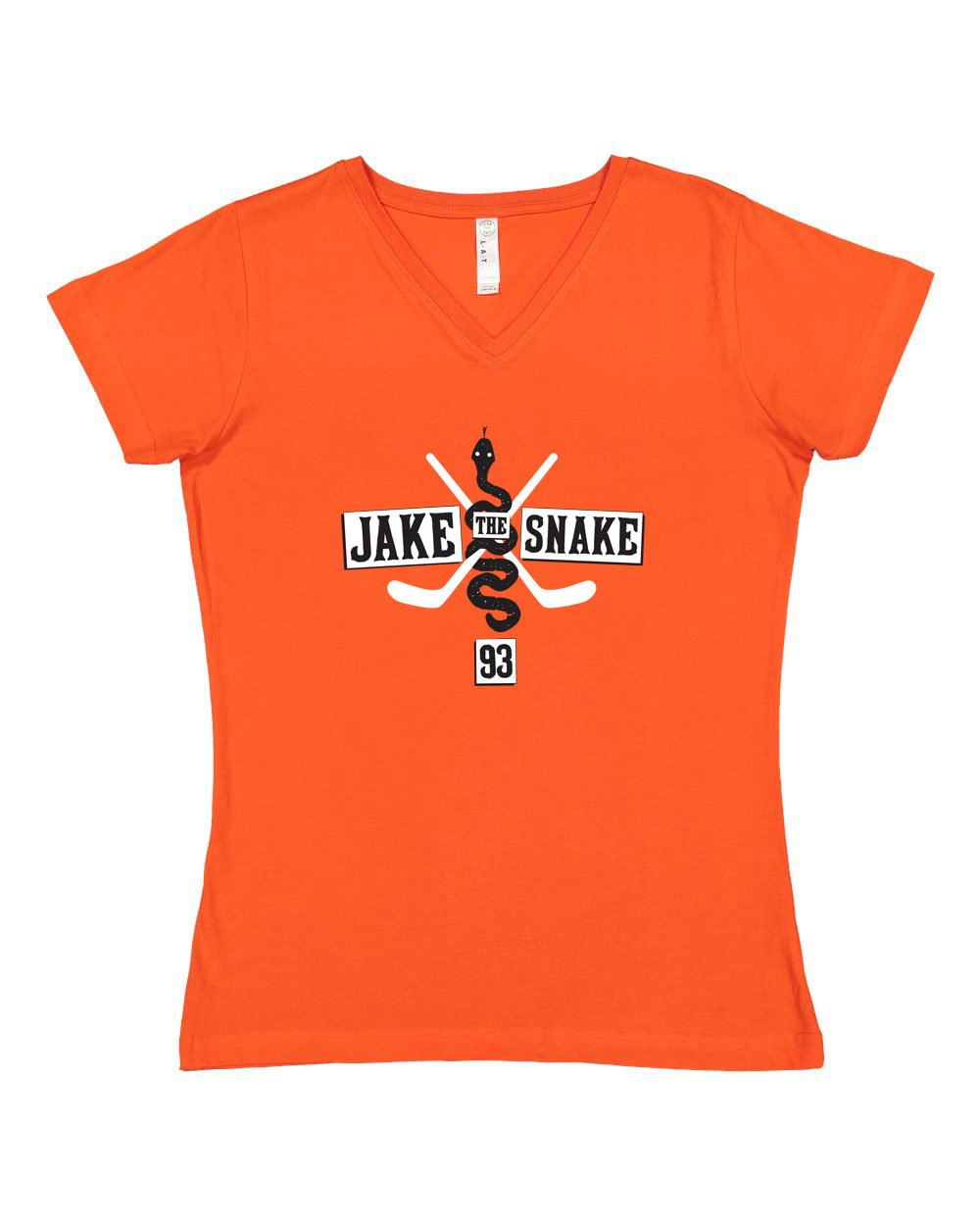 Jake The Snake LADIES Junior Fit V-Neck